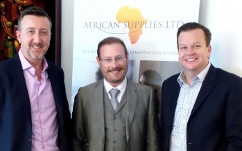New General Manager for Fletcher Buildings Roof Tile Group visits African Supplies Ltd.