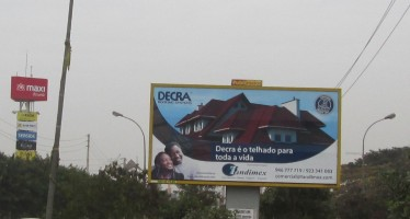 DECRA billboards in Luanda, Angola