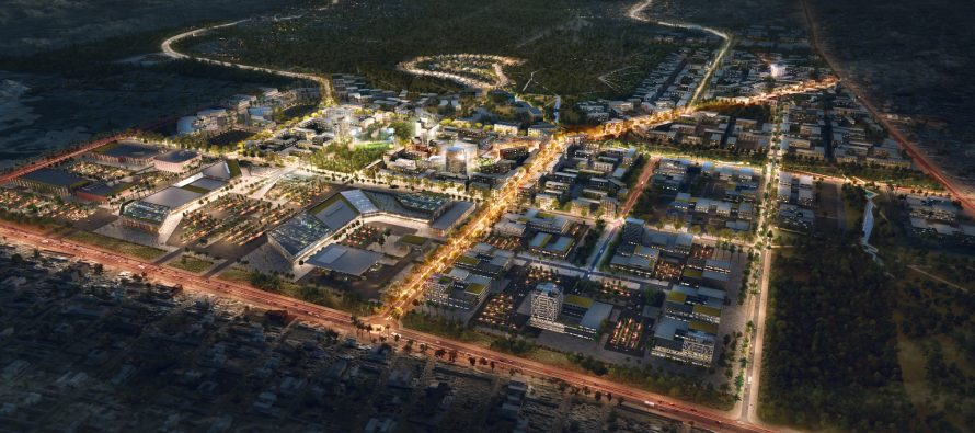Exciting new city development in North Maputo