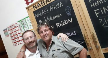 ASL Marketing Director visits Nabaki Afrika