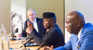 Nigeria's Vice President His Excellency Yemi Osinbajo