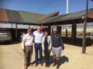 RoofTG visits Metrotile distributor in South Africa